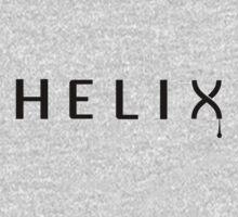 Helix - Black One Piece - Long Sleeve