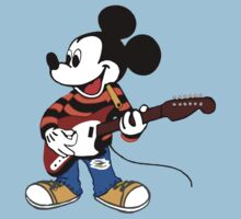 Rock Star Mickey by obscured