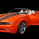 Orange Camaro II by Jeff  Burns