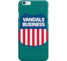 Vandals Business iPhone Case/Skin