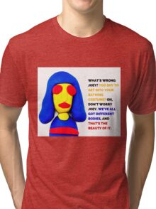 Joey Ramone, Noel Fielding's Luxury Comedy Tri-blend T-Shirt