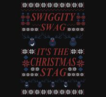 SWIGGITY SWAG, IT'S THE NIGHTMARE STAG! - Hannibal ugly christmas sweater by FandomizedRose