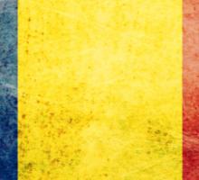 Romania - Vintage Sticker