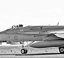 RAAF FA-18 Hornet by Nathan T