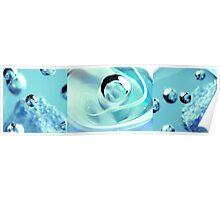 Sapphire Snow Poster