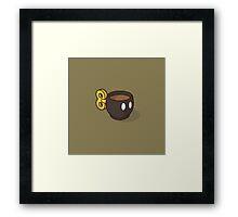 Bob-omb Espresso Framed Print