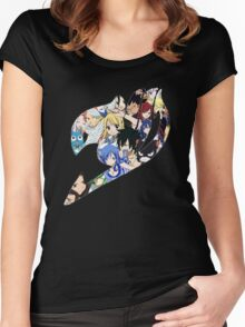 Fairy Tail Guild Women's Fitted Scoop T-Shirt
