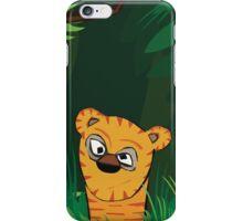 Tiger Peeking iPhone Case/Skin