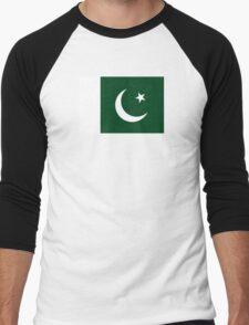 Pakistan - Standard Men's Baseball ¾ T-Shirt