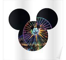 Fun Wheel Mickey Poster