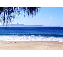 Looking out to Freycinet National Park, Tasmania Photographic Print
