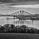 The Bridges from Dalmeny Estate by Doug Cook