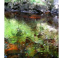 Water Slow and Calm..... Photographic Print