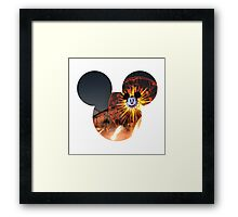 World of Color Mickey 2 Framed Print