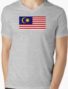 Malaysia - Standard Mens V-Neck T-Shirt