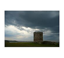 Governor Macquarie's Watch Tower, La Perouse Photographic Print