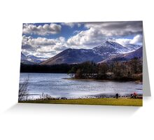 Causey Pike from Derwentwater Greeting Card