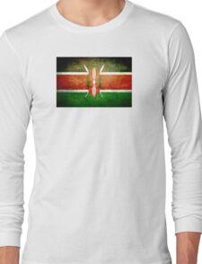 Kenya - Vintage Long Sleeve T-Shirt