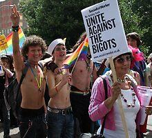 Unite against the bigots by Roxy J