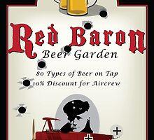 Red Baron Beer Garden by CobbWebb