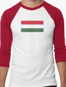 Hungary - Standard Men's Baseball ¾ T-Shirt