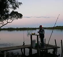 Fishing at Roys' by bribiedamo