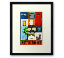 Bottle Rocket Lovely Soiree Poster 2013 Framed Print