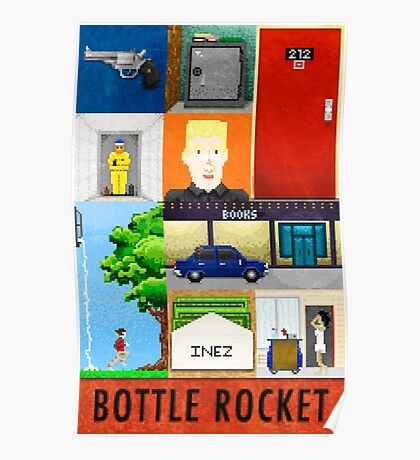 Bottle Rocket Lovely Soiree Poster 2013 Poster