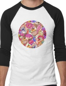 Sugar, Spice & All Things Nice Men's Baseball ¾ T-Shirt