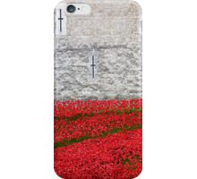 Tower Poppies 03 iPhone Case/Skin