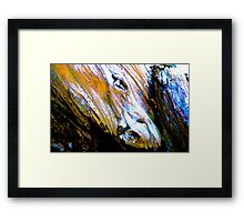 Equine Abstract Framed Print