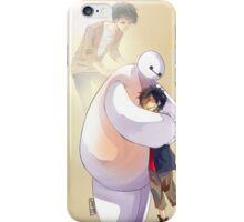 Big Hero 6 Baymax Hugging Hiro With Tadashi iPhone Case/Skin