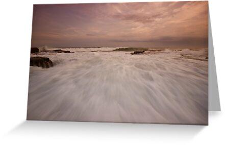 Bar Beach Rock Platform 10 by Mark Snelson