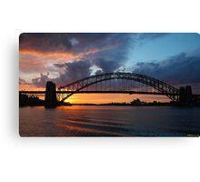 Dawn of the Emerald City - Sydney Harbour,Sydney Australia Canvas Print