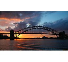 Dawn of the Emerald City - Sydney Harbour,Sydney Australia Photographic Print