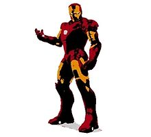Iron Man Evolution Stencils by David Wildman