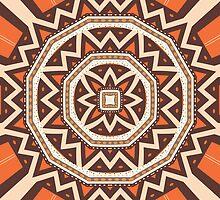 Mandala tiling by lalylaura
