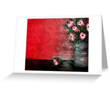 My feature Wall painting Greeting Card