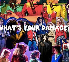 Heather's Collage -What's your damage? by Valerie Genzano