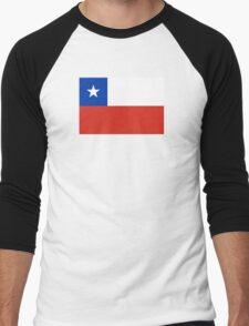 Chile - Standard Men's Baseball ¾ T-Shirt