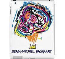 Jean Michel Basquiat Head iPad Case/Skin