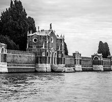 Venice Isola di San Michele by eddytkirk
