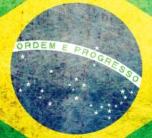 Brazil - Vintage Sticker