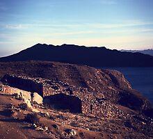 Chinkana Archeological Site on Isla del Sol in Bolivia by svenschermer