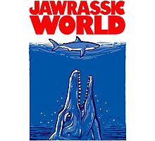Jawrassic World (variation) Photographic Print