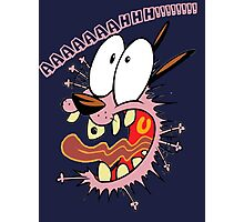 Courage the cowardly dog Photographic Print