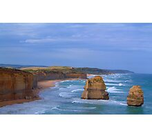 Separated By Time- The Great Ocean Road, Victoria Australia Photographic Print