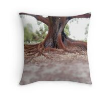 Spreading out Throw Pillow