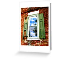 Window with History Greeting Card