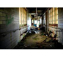 Dilapidated Hallway Photographic Print